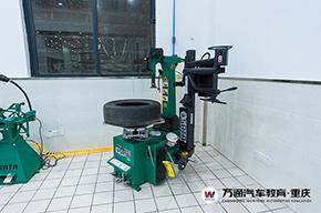 轮胎拆装机实训室