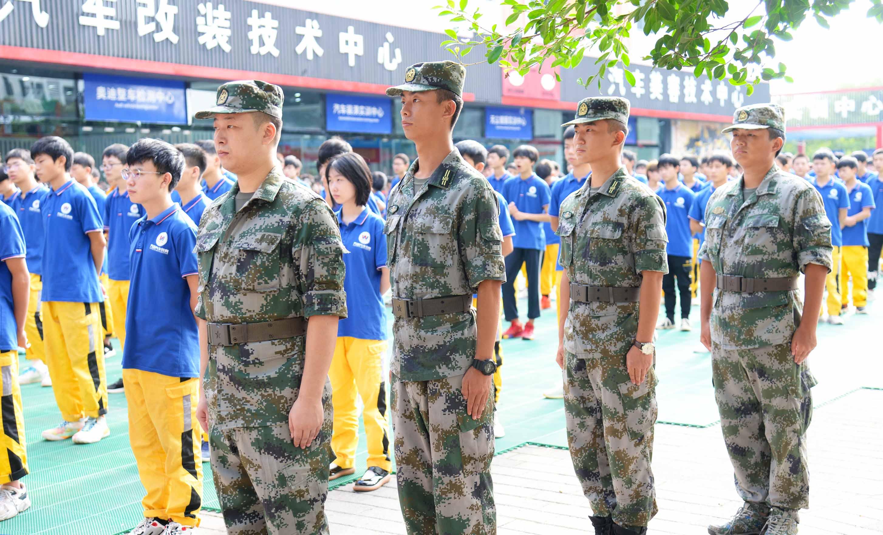 新生军训 | 重庆万通2021级军事素质拓展训练正式开始!